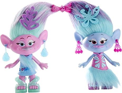 Amazon Com Dreamworks Trolls Satin And Chenille S Style Set Hasbro Toys Games
