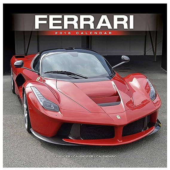 Oficial Ferrari Sport Auto 2018 Calendario Para Paredes (302 x 302 mm): Amazon.es: Deportes y aire libre