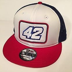 28248b28e10124 2018 Kyle Larson NewEra 9Fifty Pit Crew Hat CAP Nascar Chevy Ganassi  SnapBack USA Trucker Mesh