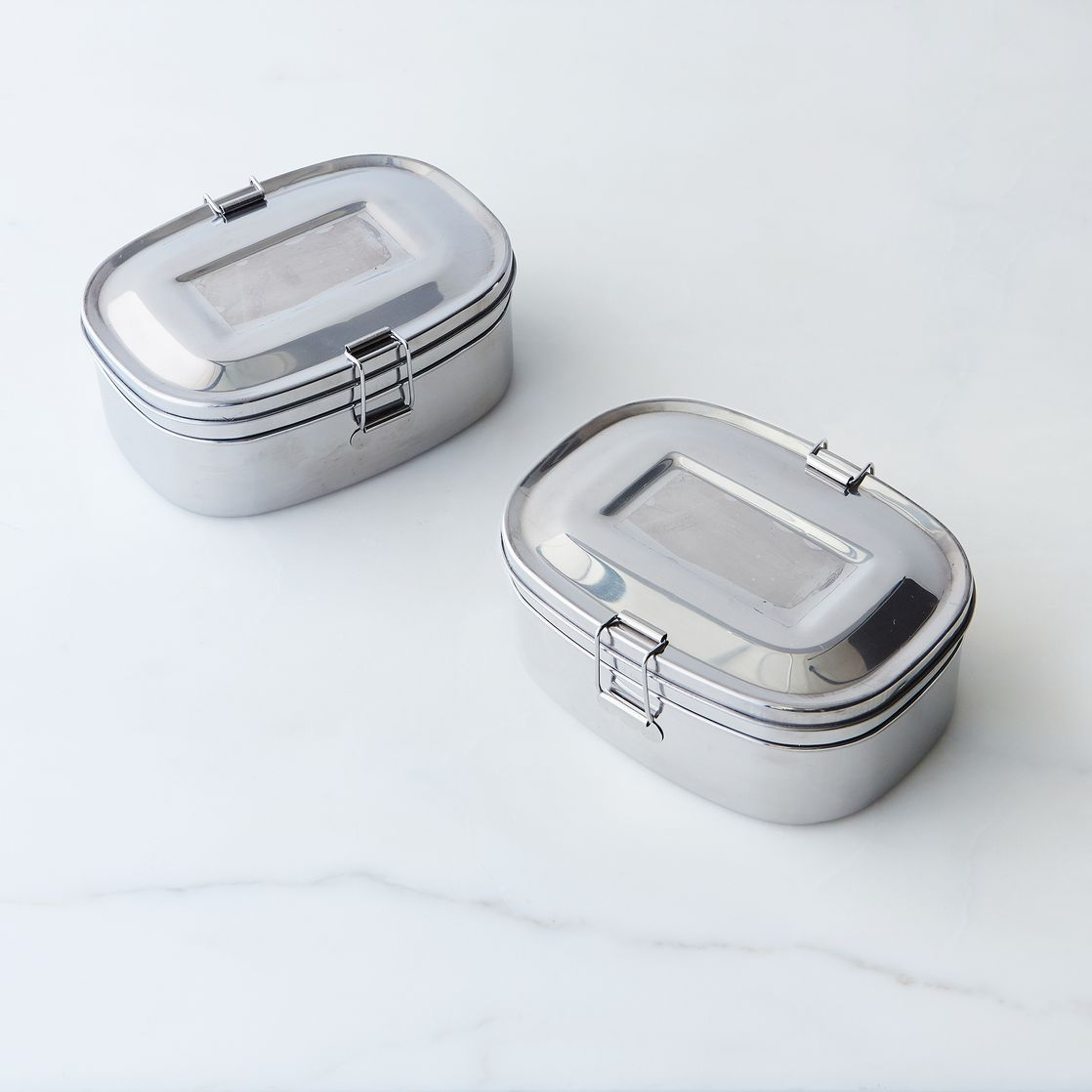 2-Layer Sandwich Box (Set of 2) - Lunch Container -- Kitchen Storage & Organization - Onyx | Shop Food52 on Food52
