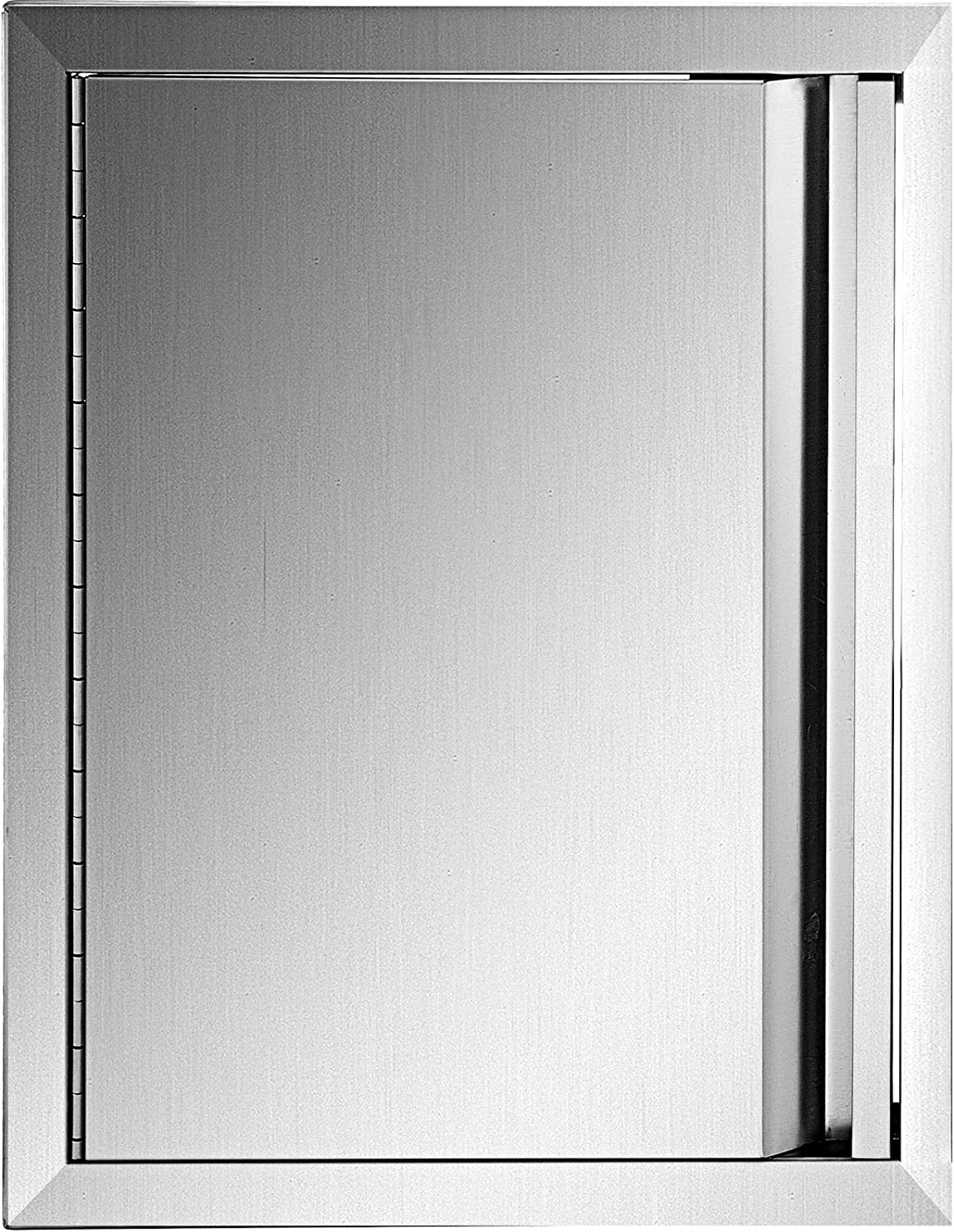 """Details about  / BBQ Access Door 35/"""" W X 24/"""" H 304 Stainless Steel Outdoor 35/"""" W x 24/"""" H"""