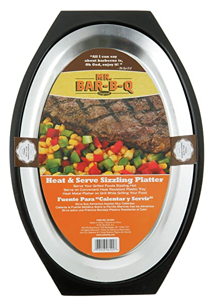 Mr Bar BQ 06102X Heat and Serve Sizzling Platter
