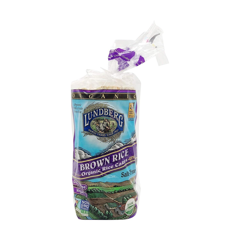 Lundberg Gluten-Free Brown Rice Organic Rice Cakes -- 8.5 oz