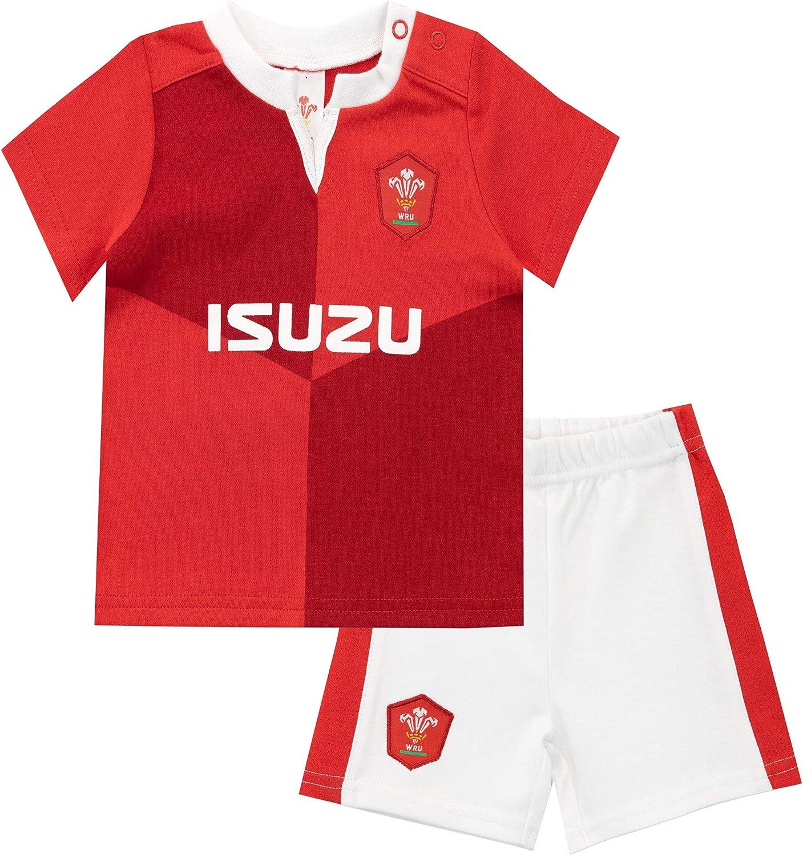 WRU Baby Boys Wales Pyjamas