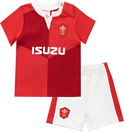 Dors Bien Wales Rugby WRU B/éb/é Gar/çon