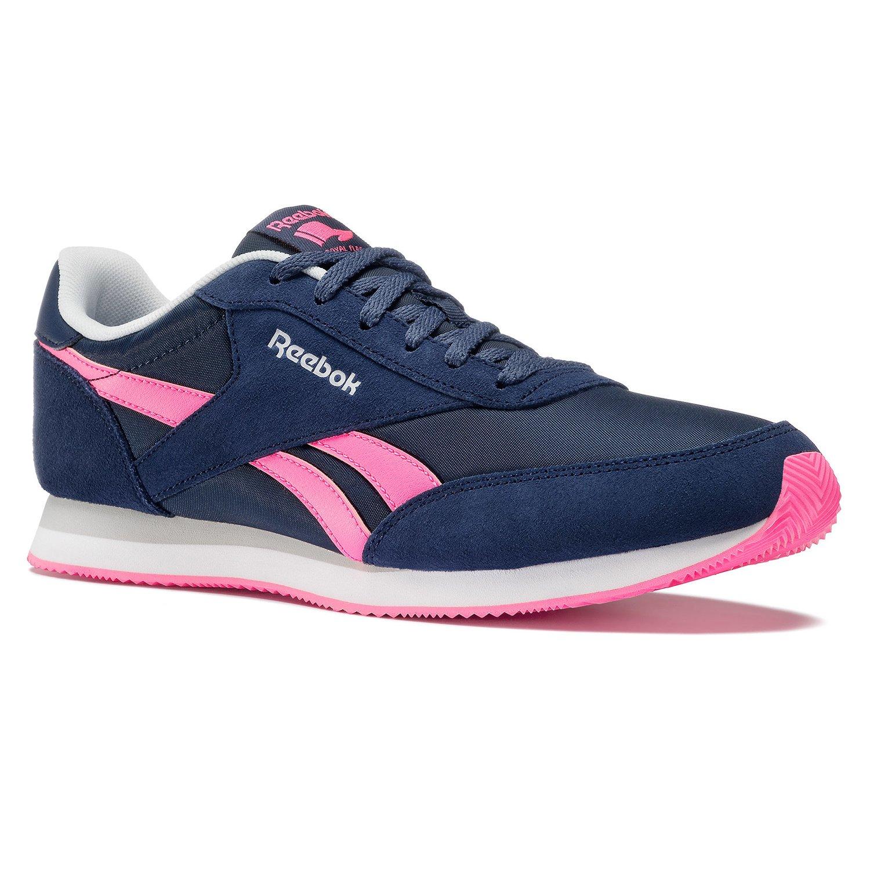 Reebok Damen Royal CL Jogger 2 Turnschuhe  37.5 EU|Azul (Hs-blue Ink / Coll Navy / Poison Pink / White / )