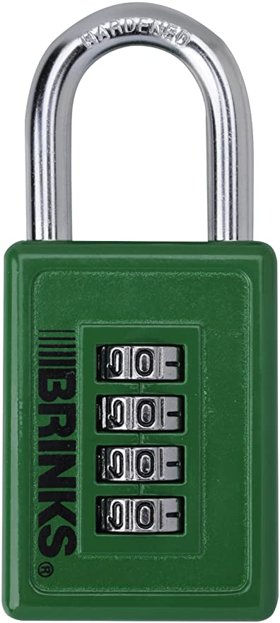 Brinks 165-50054 40mm Zinc Resettable Sports Padlock