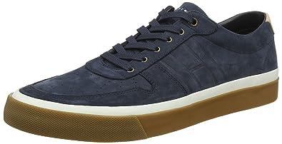 Mens Coupe Sans Doublure Nubuck Chaussures Bas-top Tommy Hilfiger IwwN0AcKi