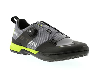 e7e6650ad9e Amazon.com | Five Ten Kestrel Boa Men's Clipless MTB Shoes (Grey ...
