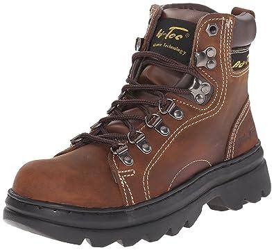 Adtec Women's 2019C Composite Toe Hiker Work Boot, Brown/Lilac, 10 M US