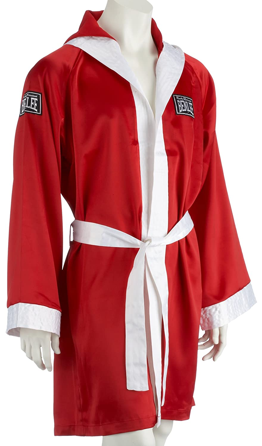 BENLEE Rocky Marciano Boxmantel Boxing Robe Rot (RED) GröM-_e: M Ben Lee