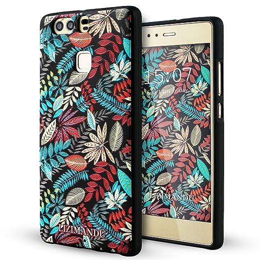 43 opinioni per Huawei P9 Cover,Lizimandu Creative 3D Schema UltraSlim TPU Copertura Della Cassa