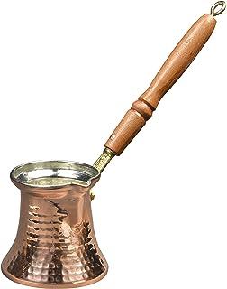 1 Handmade Brass Turkish Coffee Maker et 1 pot ibrik 73265