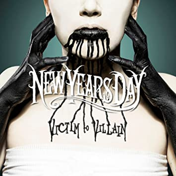 new years day victim to villain lp amazon com music new years day victim to villain lp