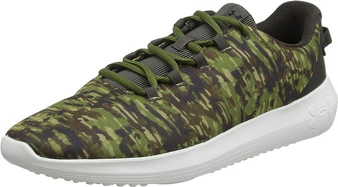 Under Armour UA Ripple NM PRNT, Zapatillas de Running para Hombre, Marrón (Bitter Chocolate/Trail Green/Onyx White (100) 100), 46 EU: Amazon.es: Zapatos y complementos