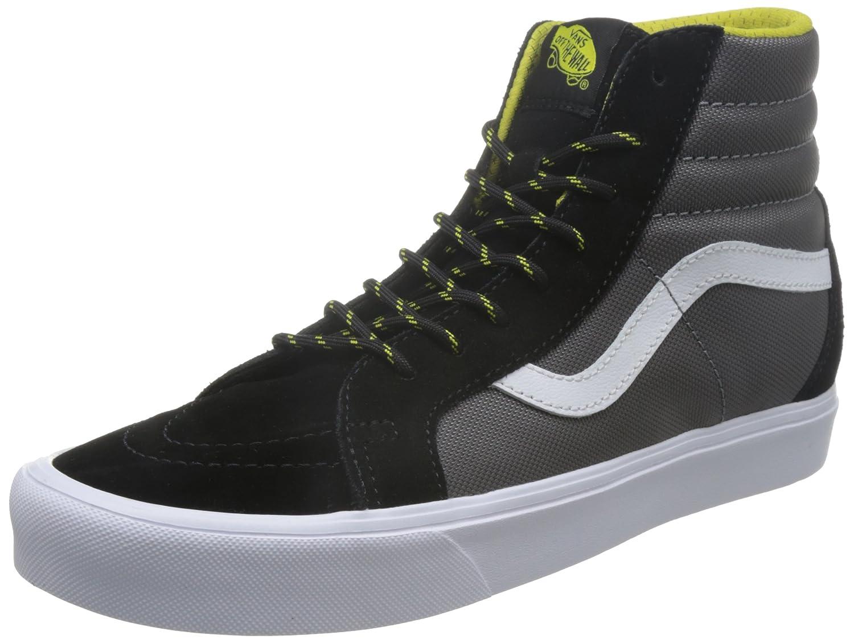 5c55decacd Vans Unisex SK8-Hi Reissue Lite (Ballistic) Black Celery Sneakers - 6  UK India (39 EU)  Buy Online at Low Prices in India - Amazon.in