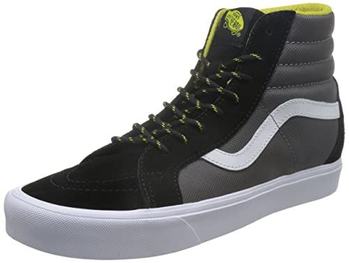 39a852fd9f3a Vans Unisex SK8-Hi Reissue Lite (Ballistic) Black Celery Sneakers - 6 UK  India (39 EU)  Buy Online at Low Prices in India - Amazon.in