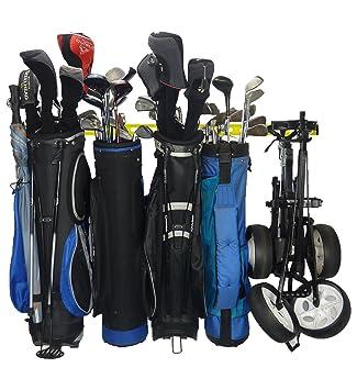 GearHooks Organizador de Bolsas de Golf para 5 Bolsas de ...
