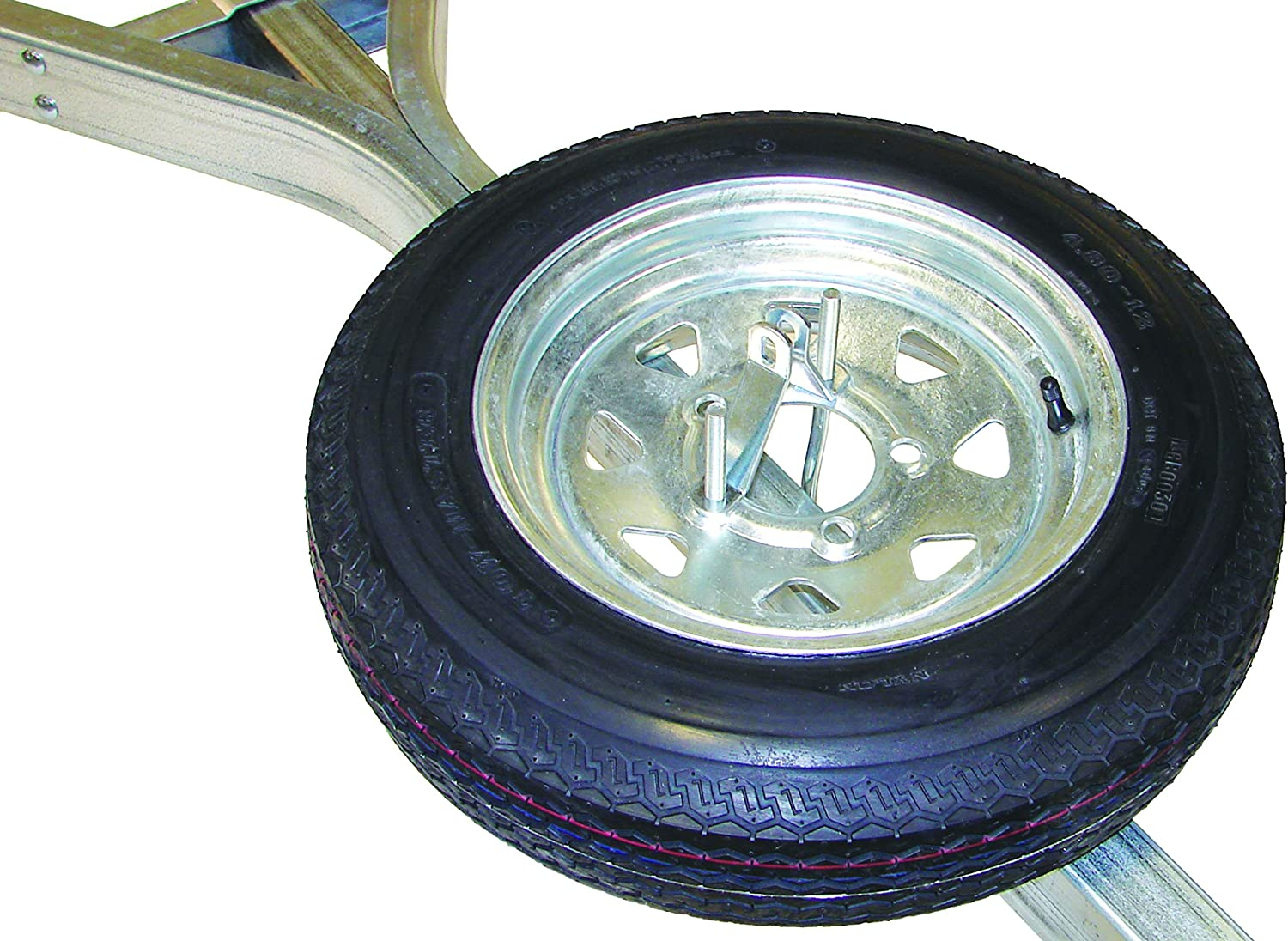 Malone Galvanized Trailer Spare Tire with Locking Attachment for MicroSport Trailer