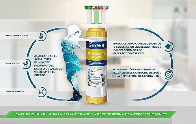 Geyser BIO - filtro de agua de 3 etapas, NO osmosis inversa ...