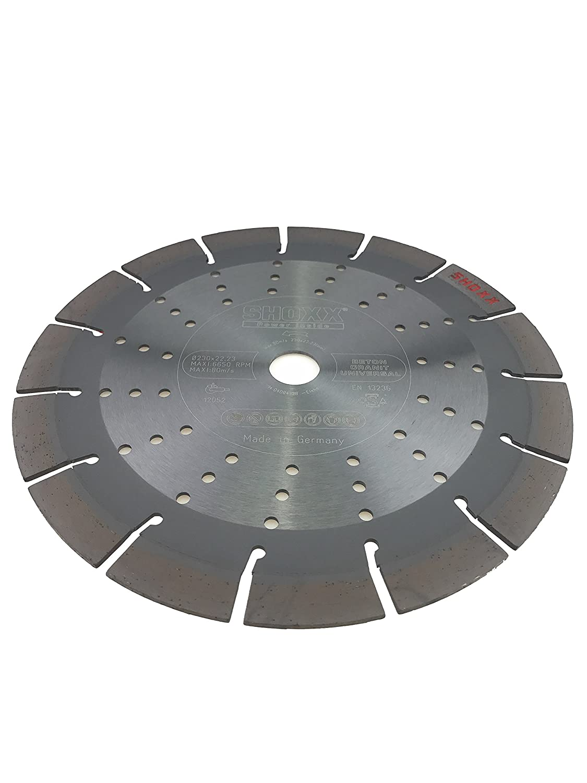mittelharte bis harte Materialien Betonprodukte PRODIAMANT Profi Diamant-Trennscheibe Beton//Granit Oxx 350 mm x 20 mm Diamanttrennscheibe PDX82.118 350mm f/ür Naturstein