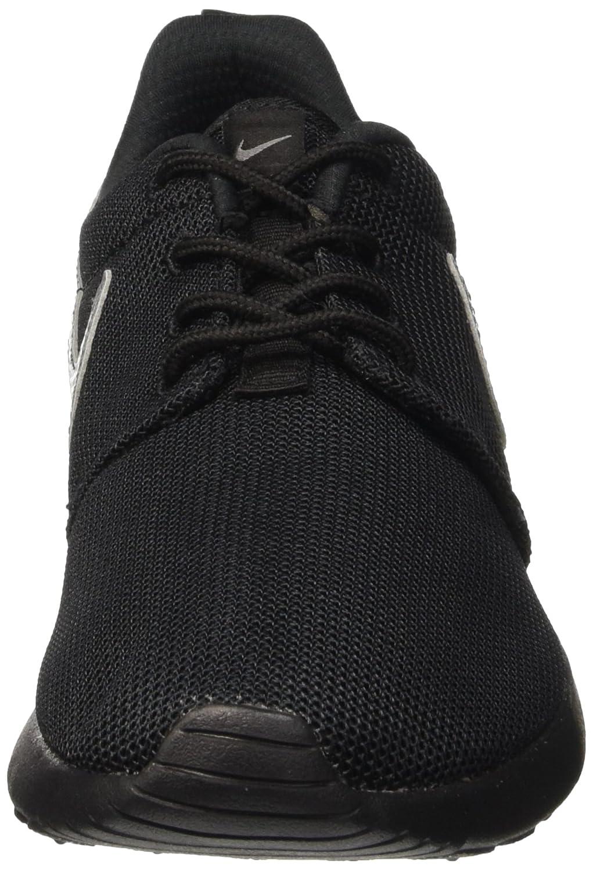 Nike Unisex-Kinder Roshe One (GS), Unisex-Kinder Nike Hallenschuhe Schwarz (schwarz/Cool Grau) 3a4a6a