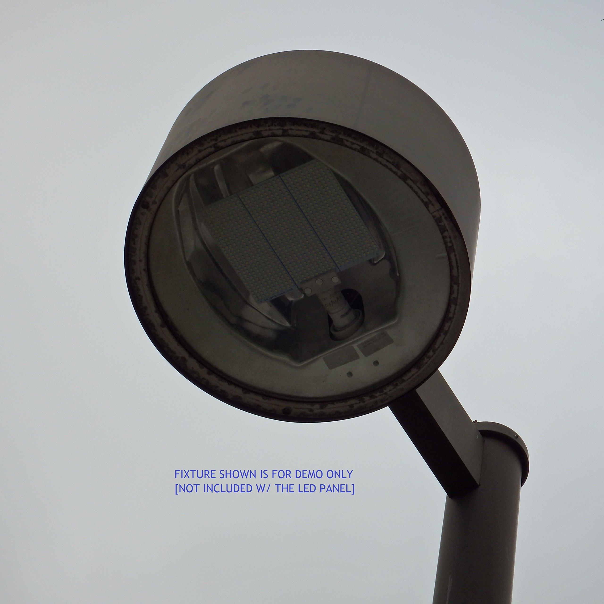 WATER-RESISTANT 33-Watt 7500-lumen COOL WHITE LED (6000K) LIGHT FOR MHL/HPS FIXTURES -- 120Vac. MOGUL BASE (E39). P/N: SPT840LTX-120V by SOLARA-USA