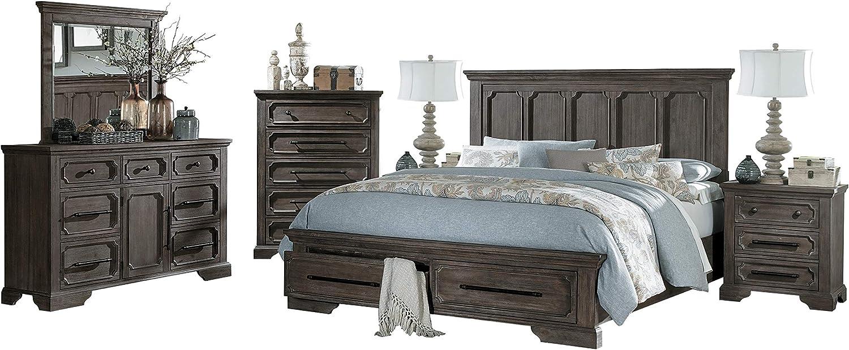 Amazon.com: Thiara French Farmhouse 3PC Bedroom Set Cal King