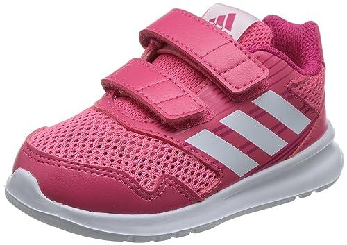 adidas Altarun CF I, Scarpe da Fitness Unisex-Bambini, Rosa (Rosrea/