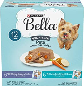 Purina Bella Grain Free Pate Adult Wet Dog Food