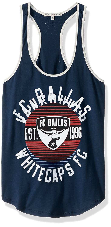 Medium Non//Sun MLS FC Dallas Womens Womens Ringer Tank Top