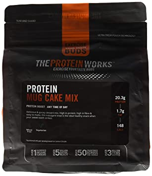 The Protein Works Mug Cake Proteico - 500 gr: Amazon.es ...