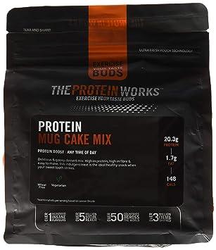 The Protein Works Mug Cake Proteico - 500 gr: Amazon.es ...