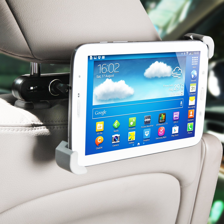 lilgad s carbuddy universal headrest tablet mount