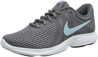 new concept 656f3 334e6 Nike Revolution 4 Chaussures de Trail Femme, Gris (Gunsmoke Ocean Bliss Dark