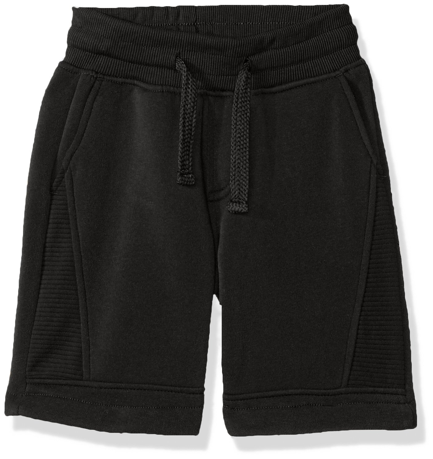 Southpole Boys' Jogger Shorts in Basic Solid Colors and Fleece Fabric
