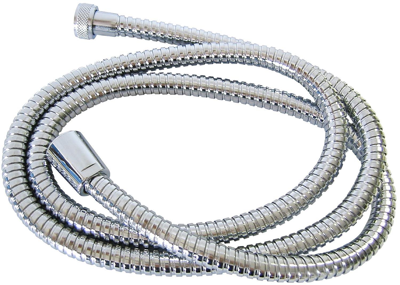 Fackelmann 61012 Tuyau flexible de douche M22x1 en Inox/EPDM 150 cm