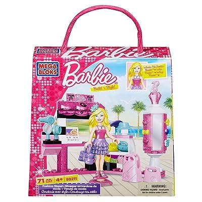 Mega Bloks Barbie Fashion Stand: Toys & Games