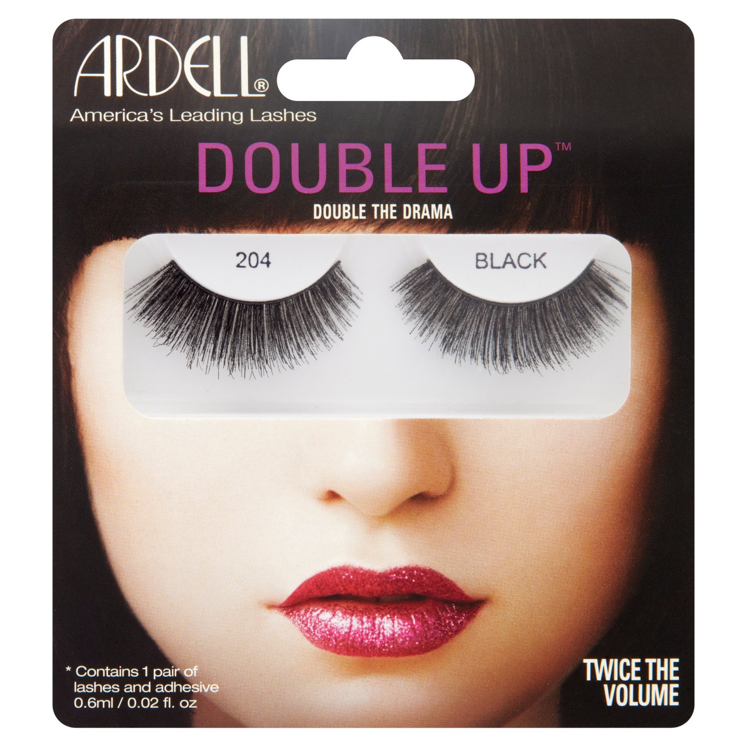 f015fa42bff ARDELL Double Up Lashes - Black 206: Amazon.co.uk: Beauty