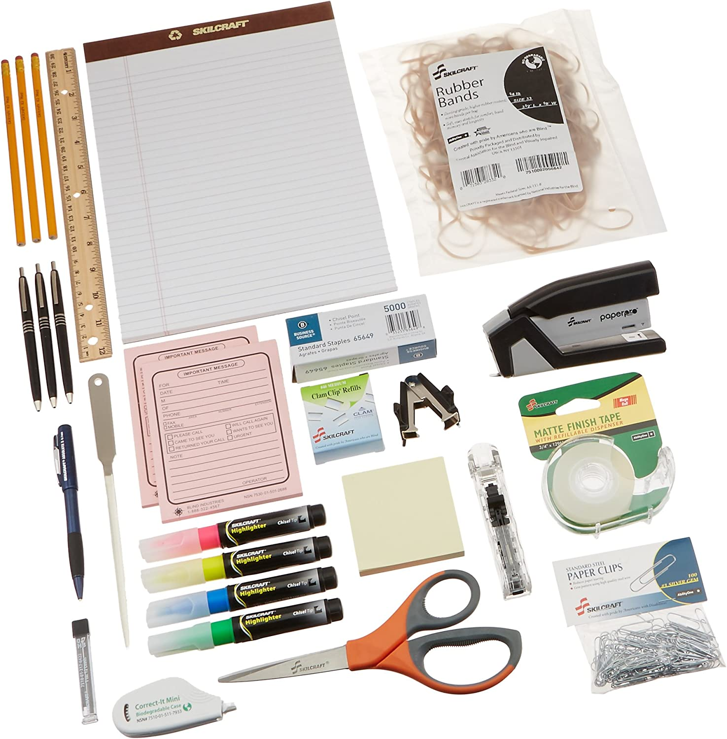 Skilcraft Employee Start-Up Office Kit (NSN4936006)