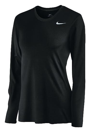 b7444c3150ae Amazon.com  Nike Womens Dri-Fit Fitness Workout T-Shirt  Sports ...