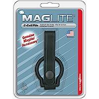 Maglite Plain Leather Belt Holder for C Cell Flashlights, Black