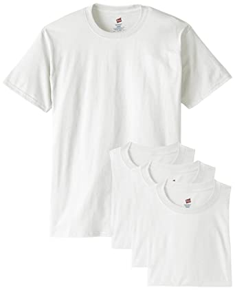 Hanes Men's ComfortSoft T-Shirt (Pack of 4) | Amazon.com