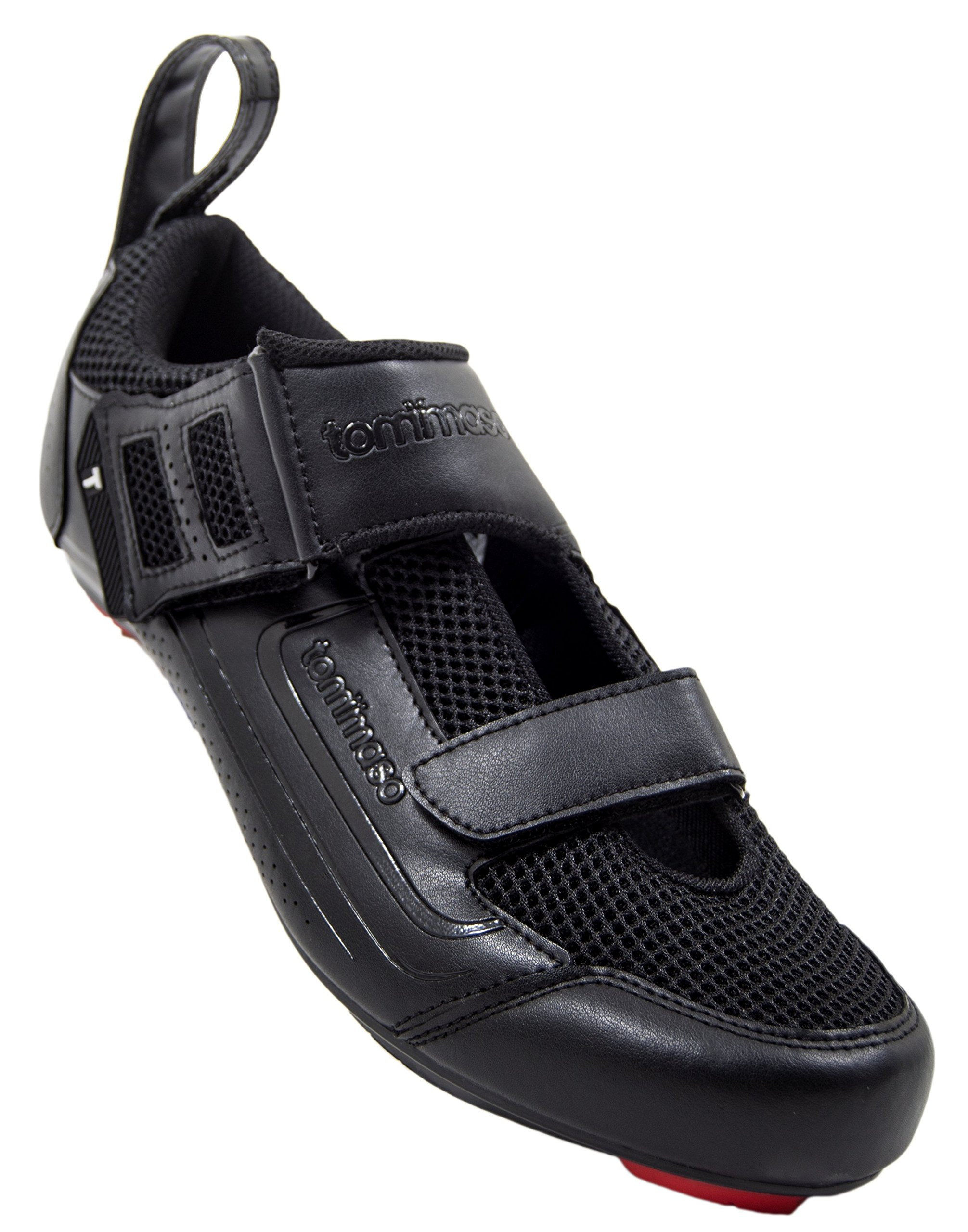 tommaso Veloce 100 Triathlon Road Cycling Shoe - Black - 41