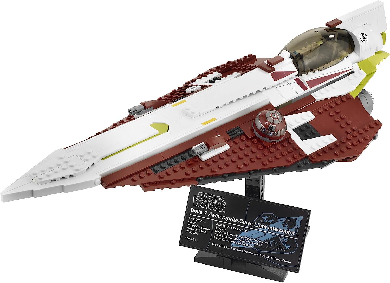 NEU LEGO Star Wars 10215  Obi-Wan's Jedi Starfighter™ 47 cm lang auf Ständer