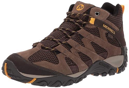 16f3ac2d3e Merrell Men's Alverstone Mid Waterproof Hiking Shoe