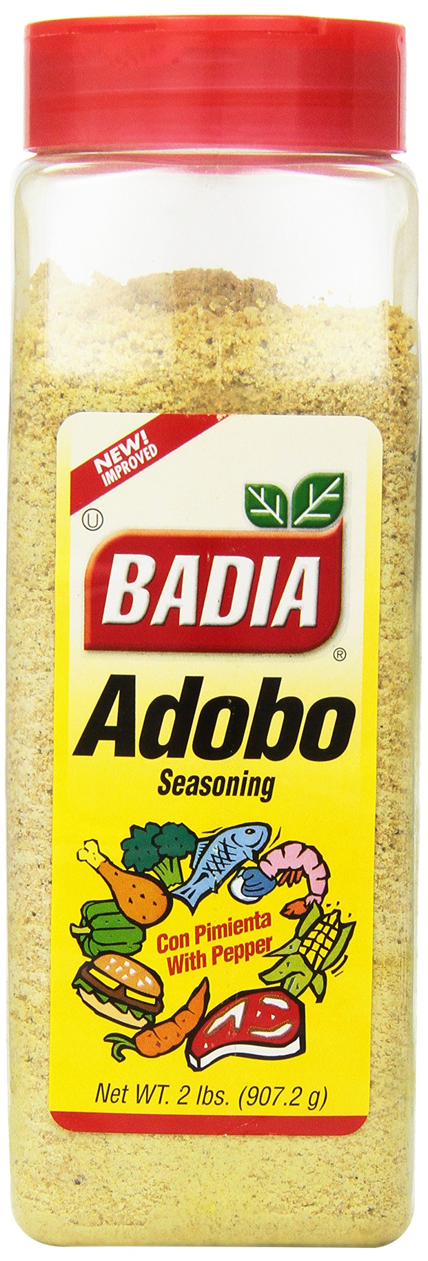Badia Spices inc Adobo, with Pepper, 32-Ounce (Pack of 6) by Badia (Image #1)