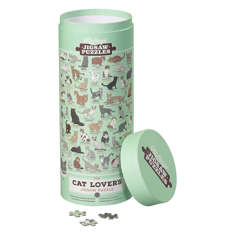 Ridleys Cat Lovers Puzzle de 1000 Piezas: Amazon.es ...
