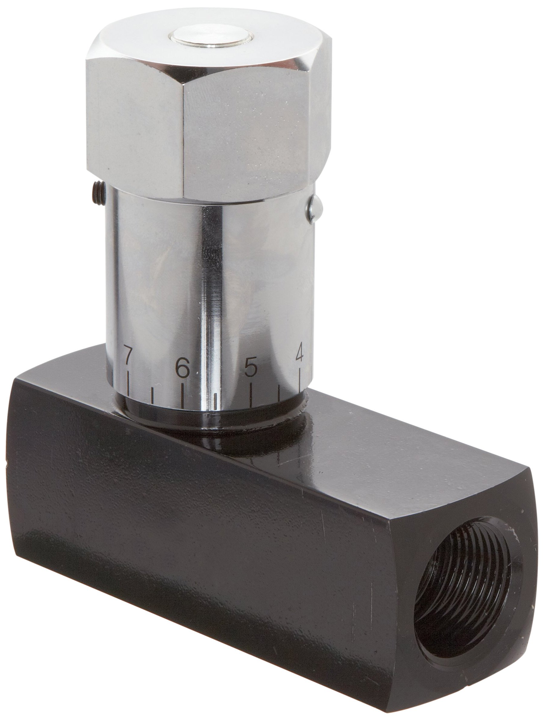 Prince WFC-1200 Wolverine Flow Control Valve, Carbon Steel, In-Line, 25 gpm Max Flow, 3/4'' NPTF