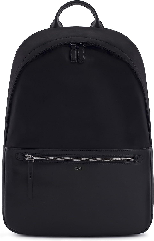 ISM: The Backpack (Black) | Leather Laptop Backpack | Work Backpack | Black Leather Backpack | 15inch Laptop Backpack |